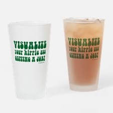 Visualize Getting Your Hippie Drinking Glass