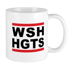 WSH-HGTS Hip-Hop tribute Small Mug
