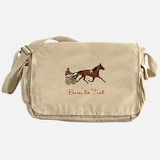 Born to Trot Messenger Bag
