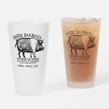 Infidel Barbeque Drinking Glass
