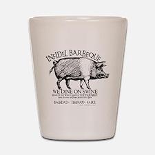 Infidel Barbeque Shot Glass