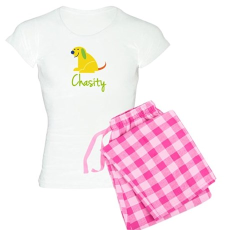 Chasity Loves Puppies Women's Light Pajamas