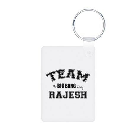 Team Rajesh Aluminum Photo Keychain