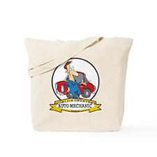 WORLDS GREATEST AUTO MECHANIC Tote Bag