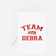 Team Debra Greeting Card