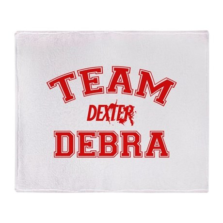 Team Debra Throw Blanket