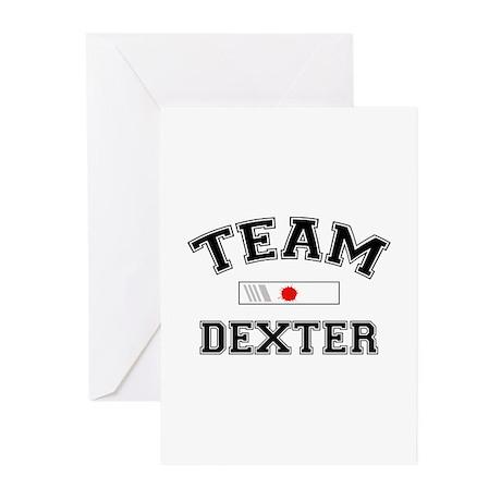 Team Dexter Greeting Cards (Pk of 20)