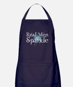 Real Men Sparkle 2 Apron (dark)