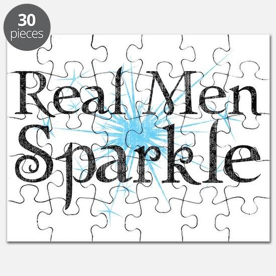 Real Men Sparkle 2 Puzzle