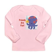 Tina Wenke Octopus Long Sleeve Infant T-Shirt