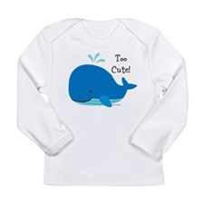 Tina Wenke Whale Long Sleeve Infant T-Shirt