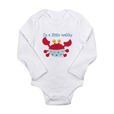 Tina Wenke Crab Long Sleeve Infant Bodysuit