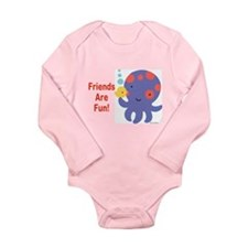 Tina Wenke's Octopus Long Sleeve Infant Bodysuit