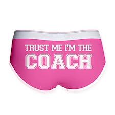 Trust Me I'm The Coach Women's Boy Brief