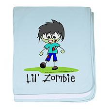 Lil' Zombie baby blanket