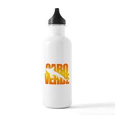 Cape Verde Tiger Shark Orange Water Bottle