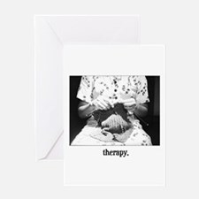 Knitting - Therapy Greeting Cards