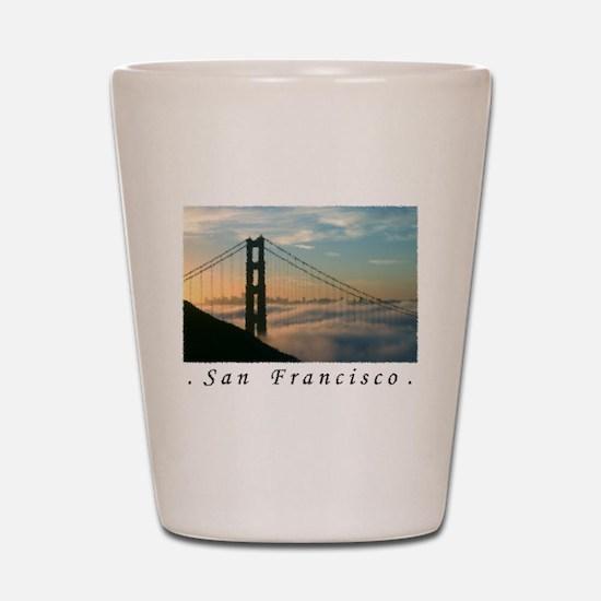 SF Dawn GG Airbrush Shot Glass