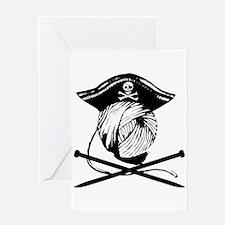 Yarrrrn Pirate! Greeting Card