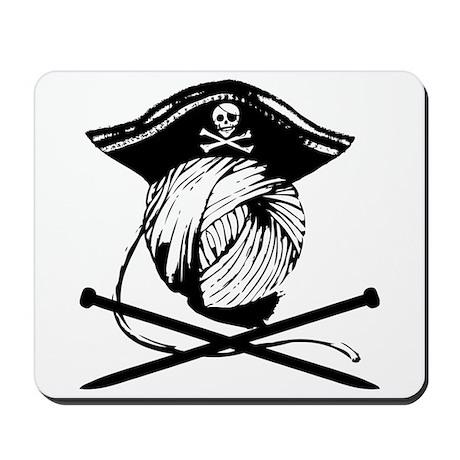 Yarrrrn Pirate! Mousepad