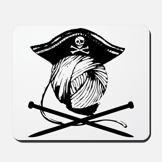 Yarrrrn Pirate! Mousepad