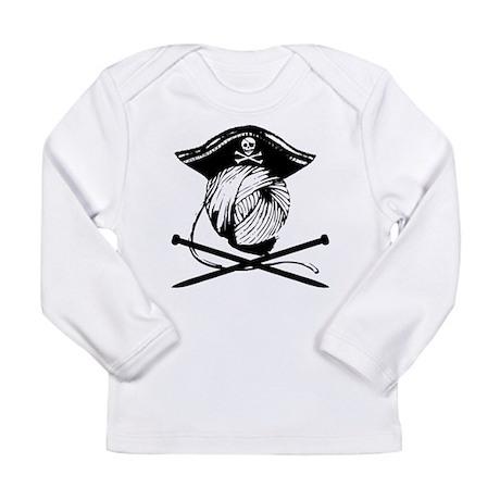 Yarrrrn Pirate! Long Sleeve Infant T-Shirt