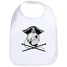 Yarrrrn Pirate! Bib
