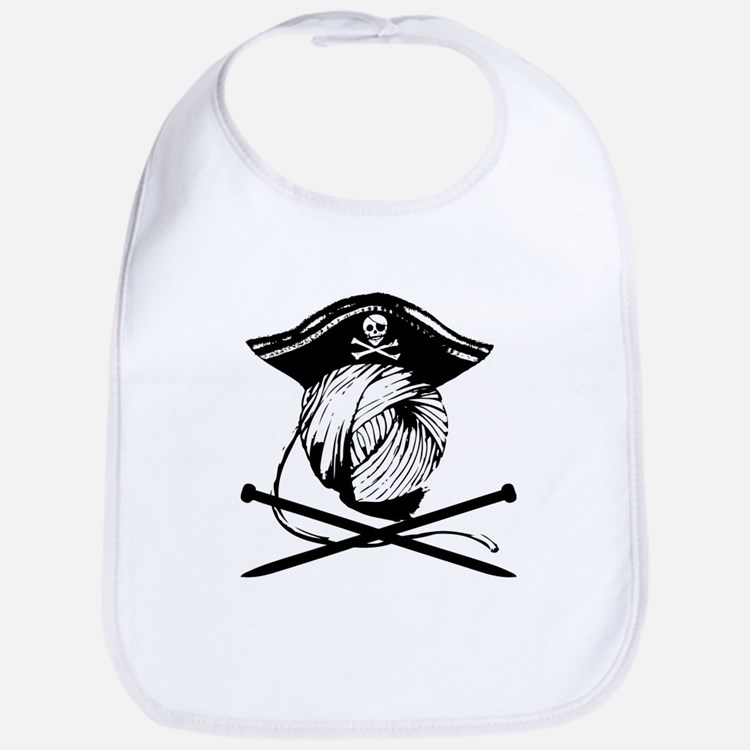 Yarrrrn Pirate! Bib