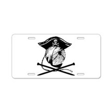 Yarrrrn Pirate! Aluminum License Plate