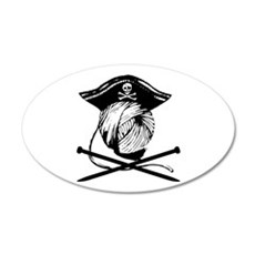 Yarrrrn Pirate! Wall Decal