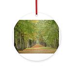 Tree Lane Ornament (Round)