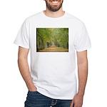 Tree Lane White T-Shirt