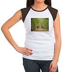 Tree Lane Women's Cap Sleeve T-Shirt