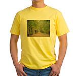 Tree Lane Yellow T-Shirt