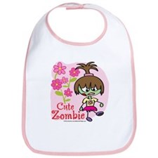 Cute Lil Zombie Bib