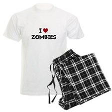 I Heart Zombies Pajamas
