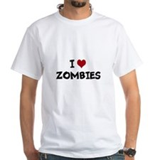 I Heart Zombies Shirt