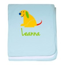 Leanna Loves Puppies baby blanket