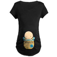 March Baby Boy T-Shirt