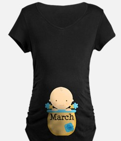 March Baby Boy T-Shirt