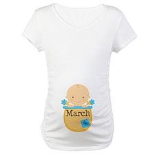 March Baby Boy Shirt