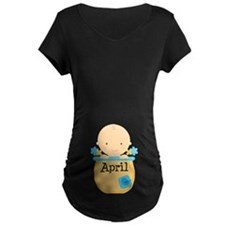 April Baby Boy T-Shirt