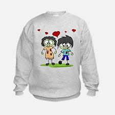 Zombie Couple Sweatshirt