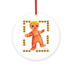Ginger Bread Boy Ornament (Round)