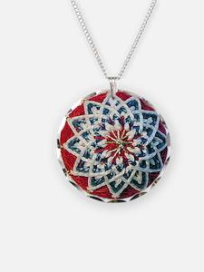 Temari Charm Necklace, Kiku Design