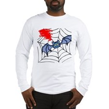 Funny Spiderweb Long Sleeve T-Shirt