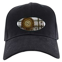 Gold and Glass Baseball Hat