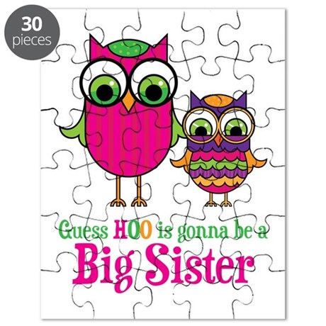 Guess Hoo Sister to be Puzzle