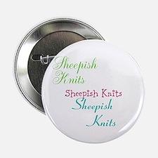 """Sheepish Knits 2.25"""" Button"""