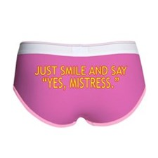 Mistress Women's Boy Brief